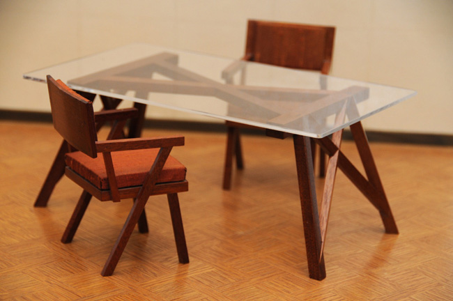The story of atelier viollet s scale model furniture Scale model furniture