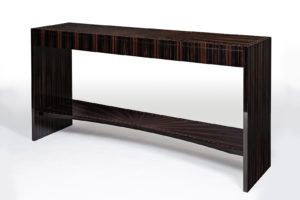 Macassar Ebony & Mother of Pearl Console