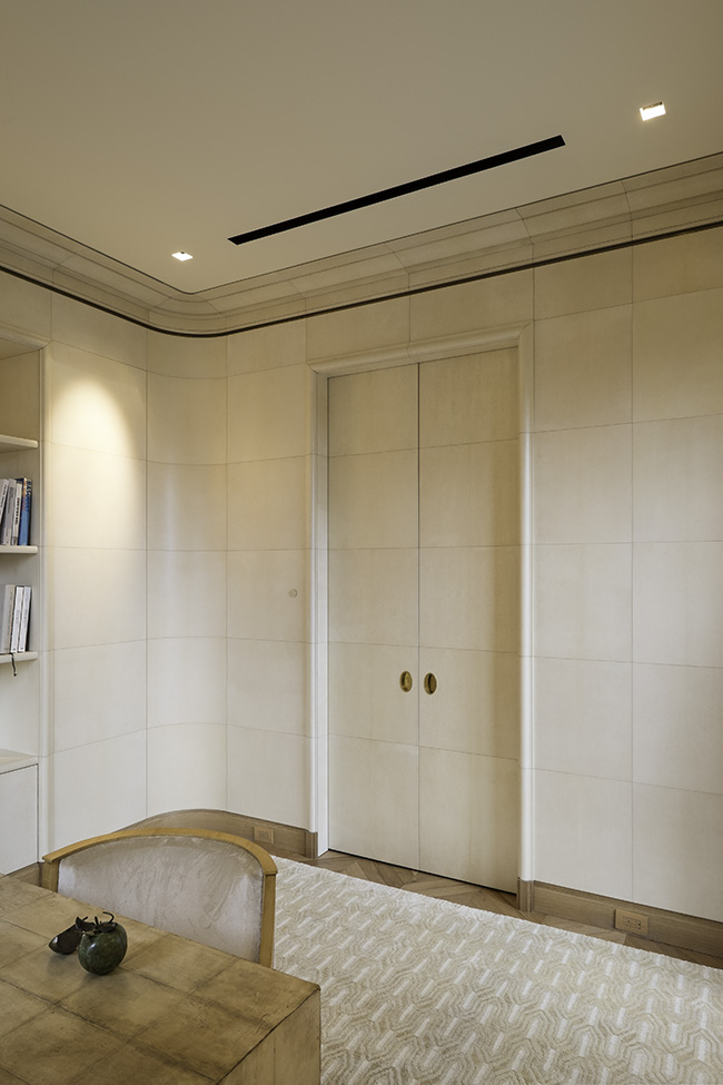 A Parchment Paneled Room