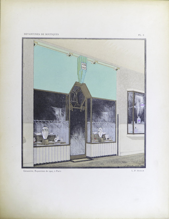 Vintage art deco devantures de boutiques - Boutique deco vintage ...