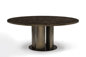 Dining Table in Horn & Bronze 1