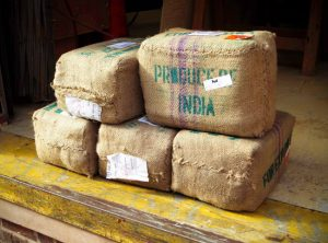 An Exotic Material Shipment From India