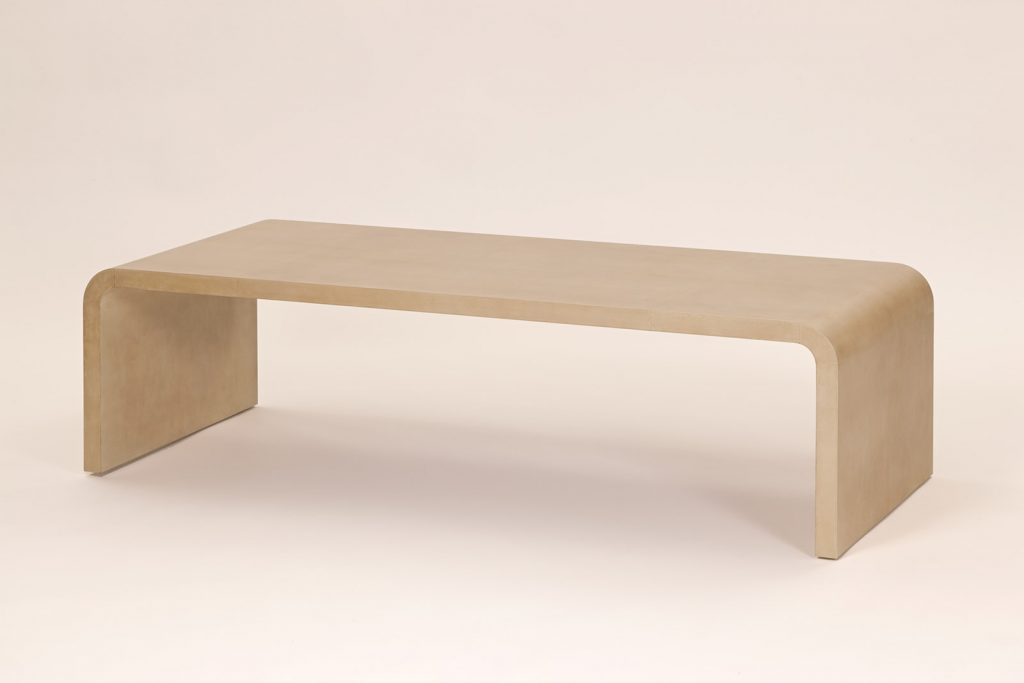 J.M.F Inspired Coffee Table in Parchment