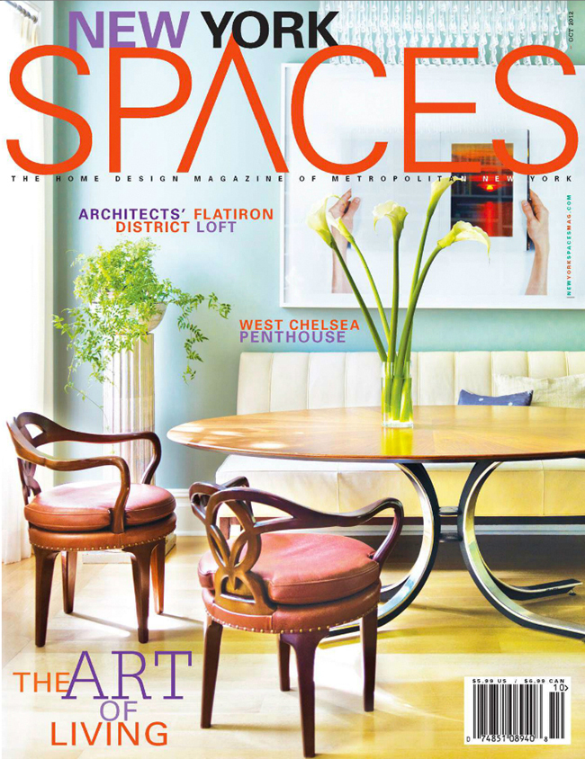 New York Spaces October Cover
