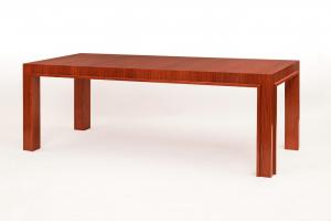 Orange Desk in Incienso Wood