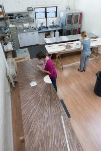 Atelier Viollet: Straw Marquetry Studio