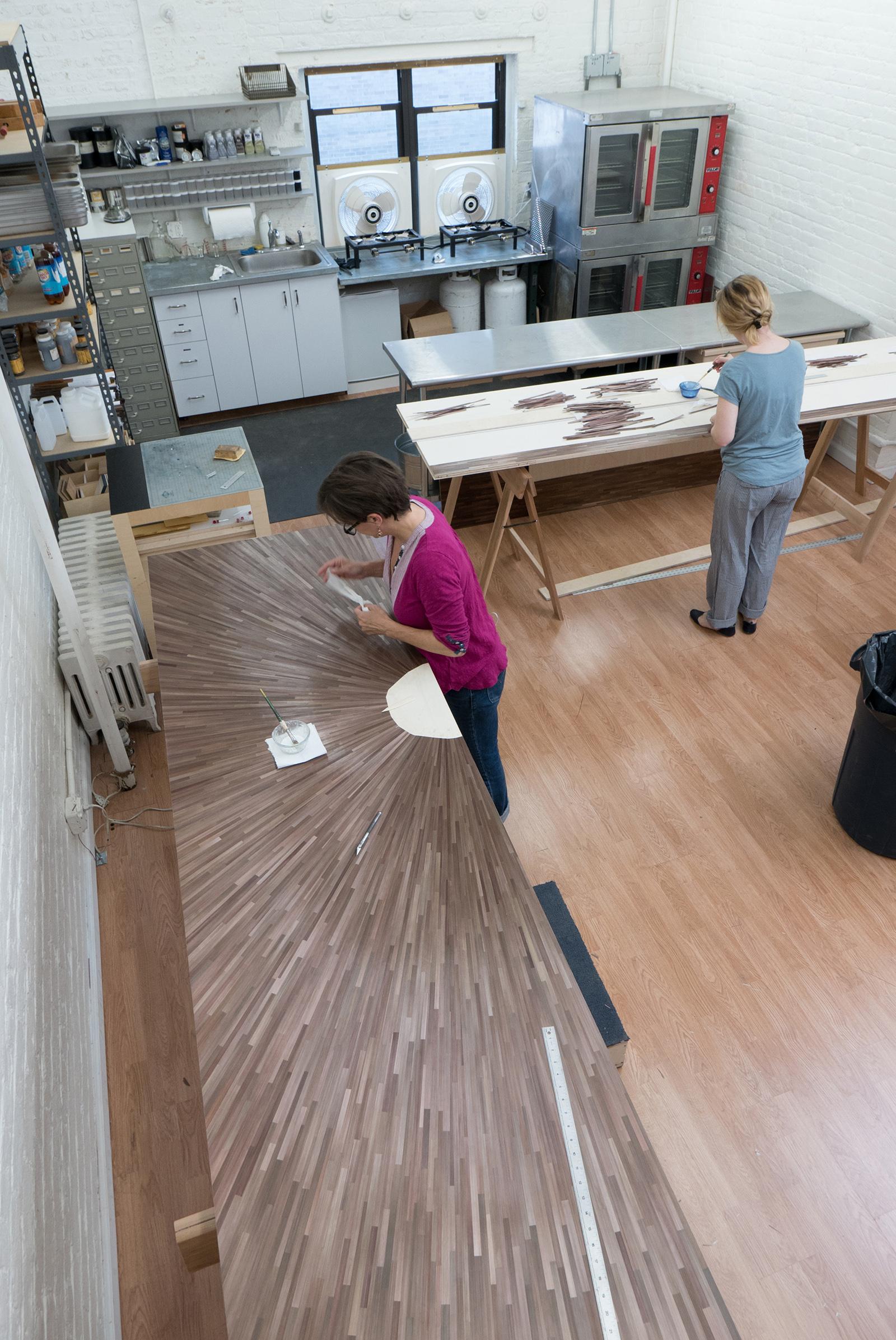 atelier viollet straw marquetry studio atelier viollet