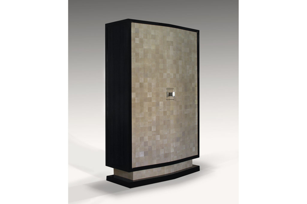 Armoire in Shagreen & Macassar Ebony