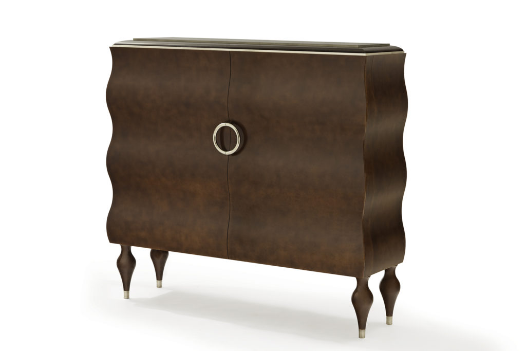 Seyssel Cabinet in Tone-on-Tone Lacquer