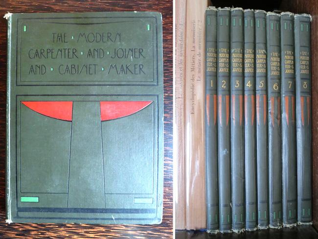 Modern Book Cover Generator ~ The modern carpenter and joiner cabinet maker