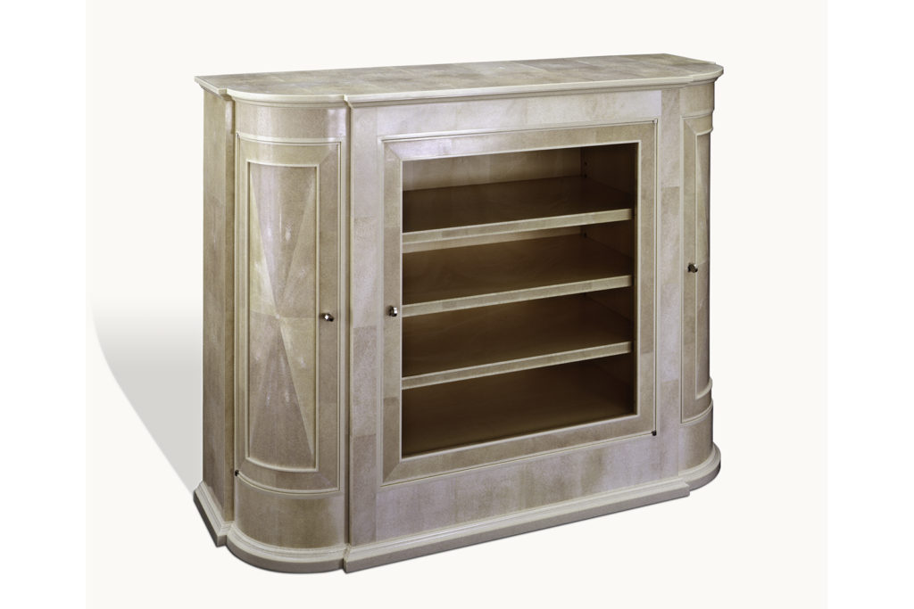Cabinet in Shagreen & Faux Ivory