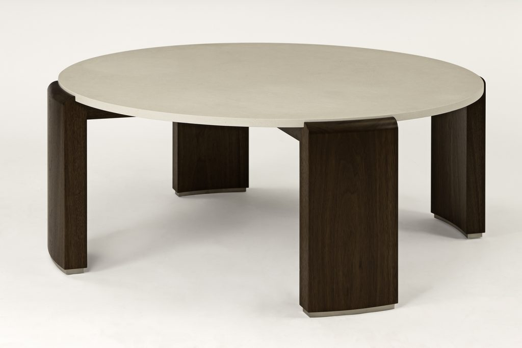 Coffee Table In Walnut