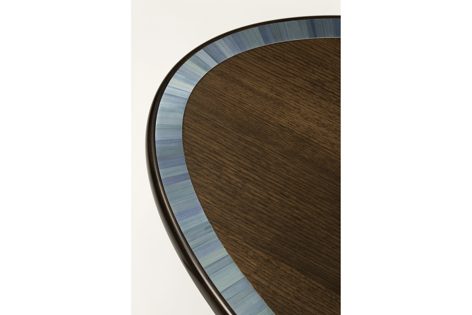 Coffee Table In Walnut & Straw Marquetry