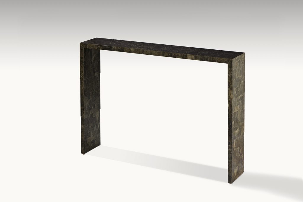Console In Mica With Stepped Sides