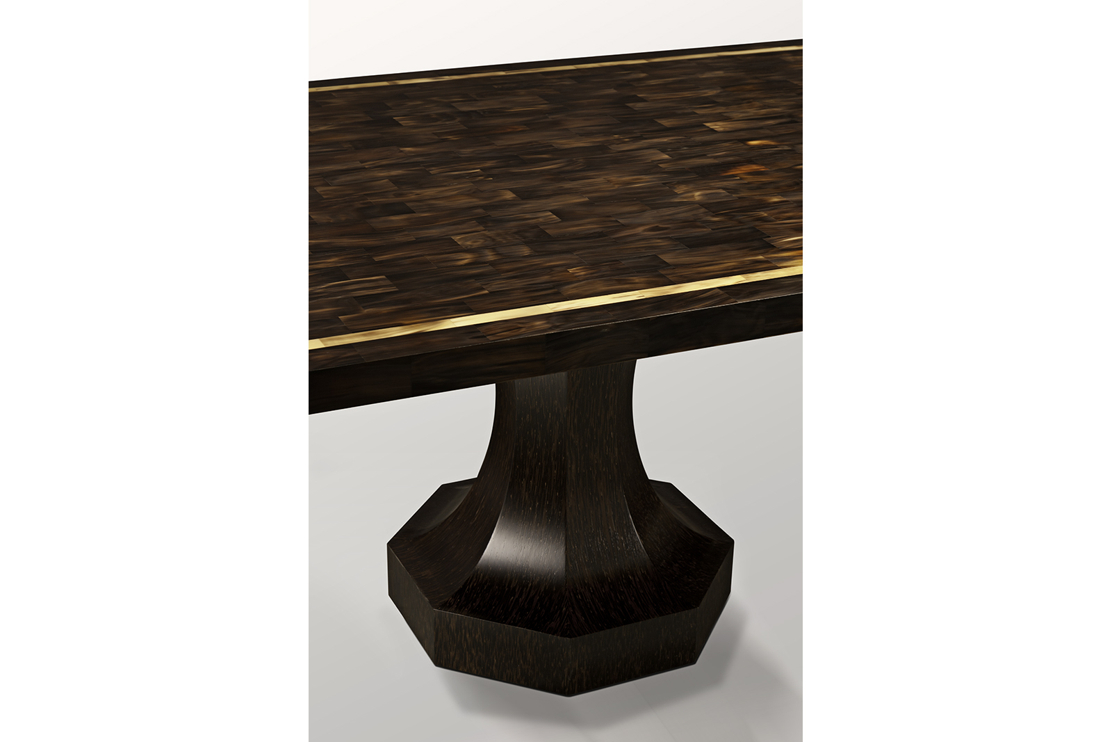 Dining Table in Horn & Palmwood