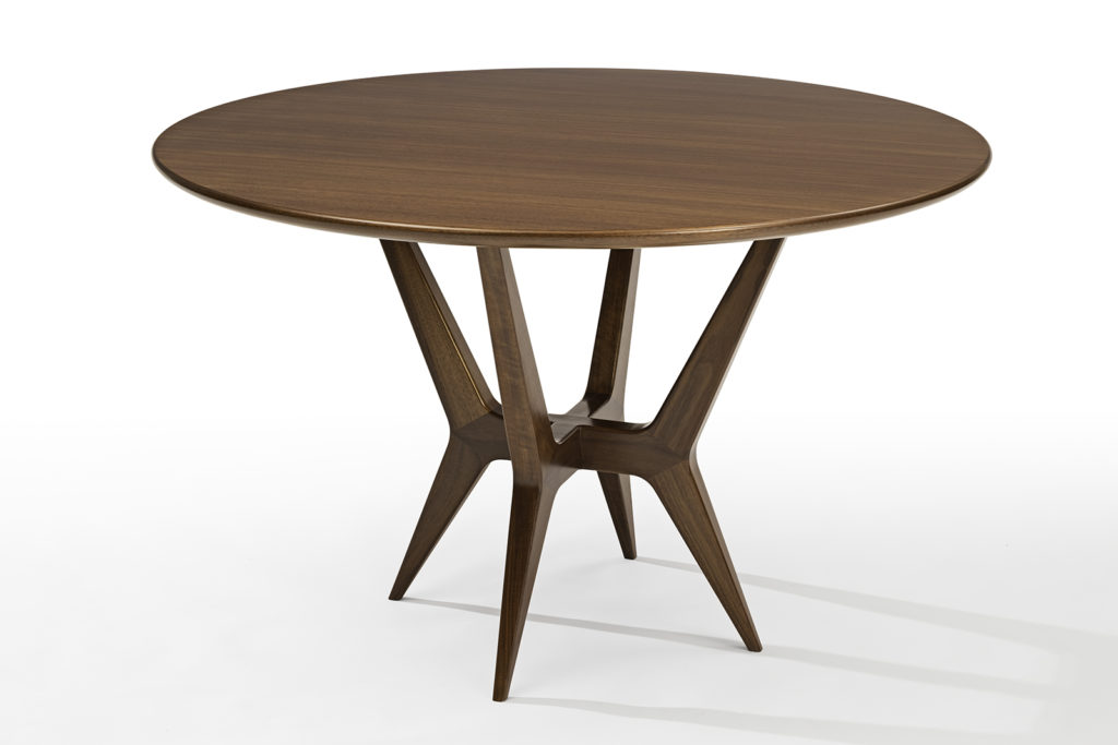 Gio Ponti Inspired Table in Walnut