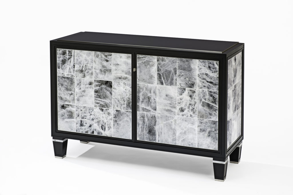 Black & White Gypsum Cabinet