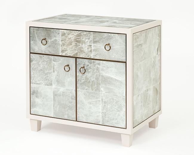 Gypsum Bedside Tables