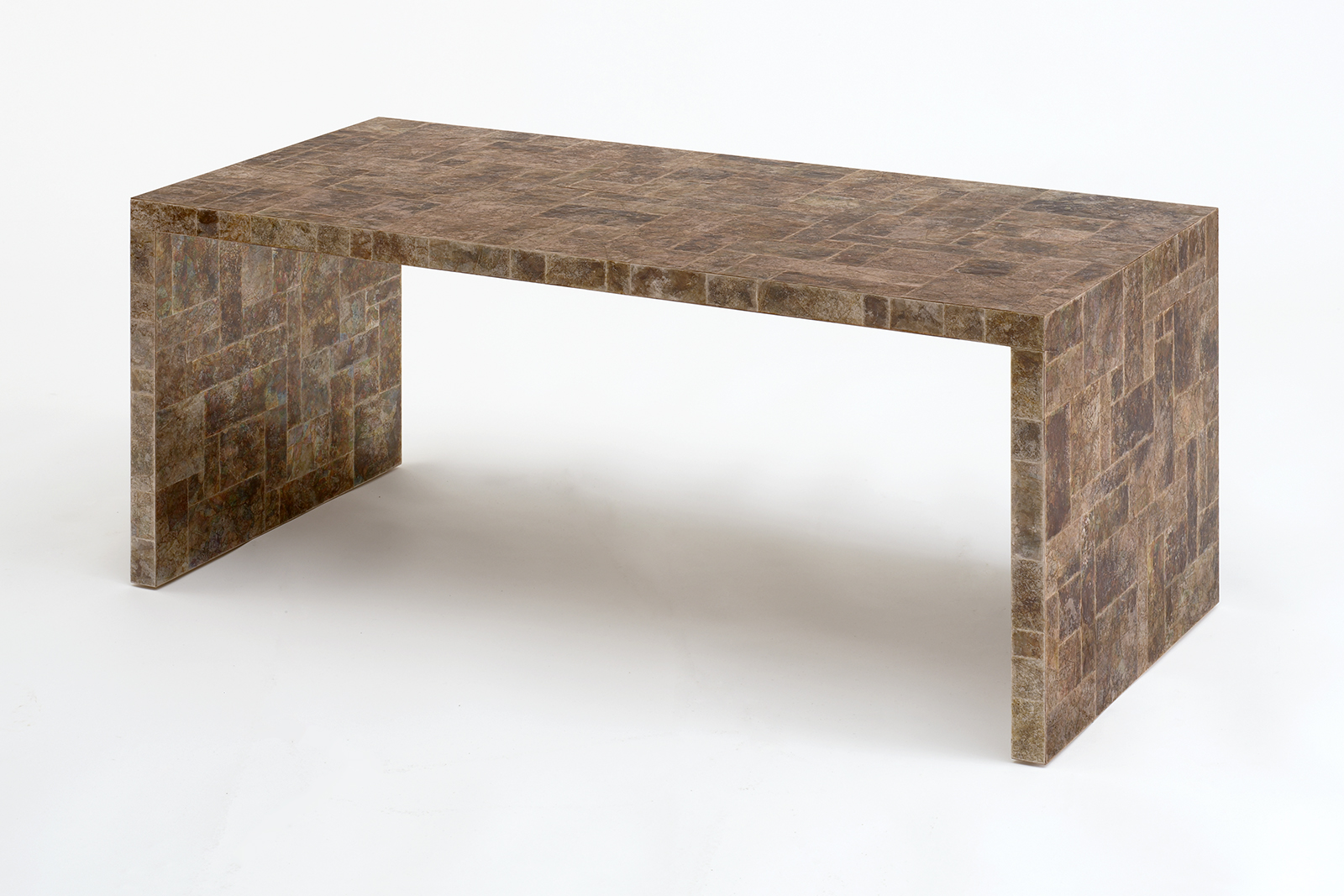 J.m. Frank Inspired Coffee Table In Mica