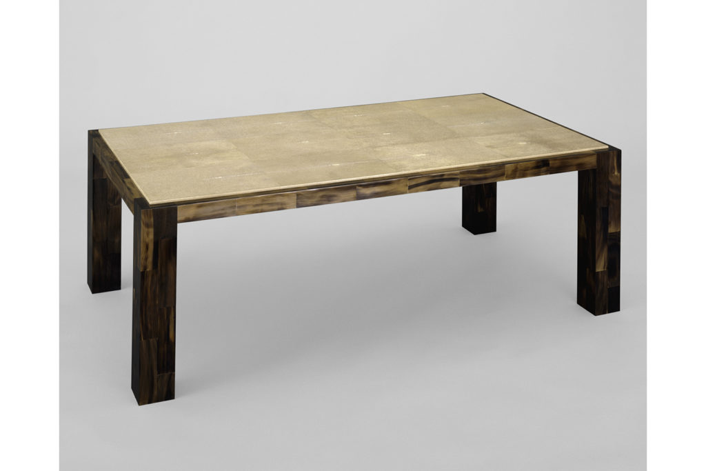 Low Table in Horn & Shagreen