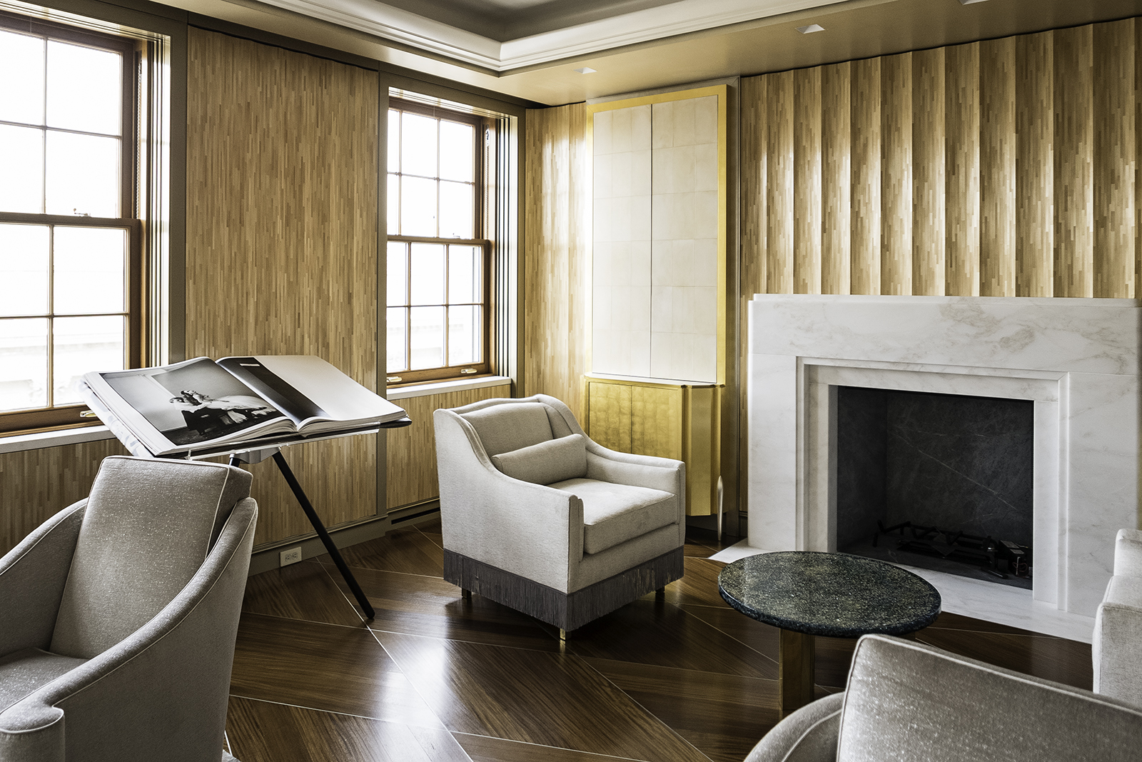 Master Sitting Room in Straw