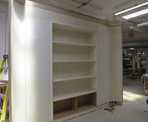 Parchment Paneled Room Update