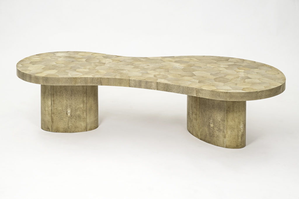 Shagreen Mosaic Coffee Table