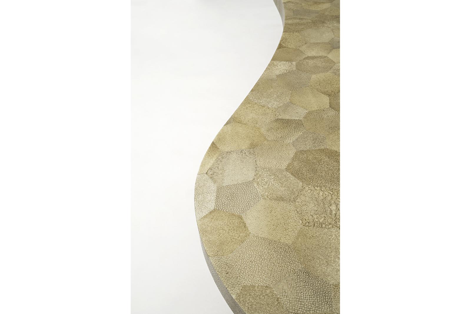 Shagreen Mosaic Coffee Table