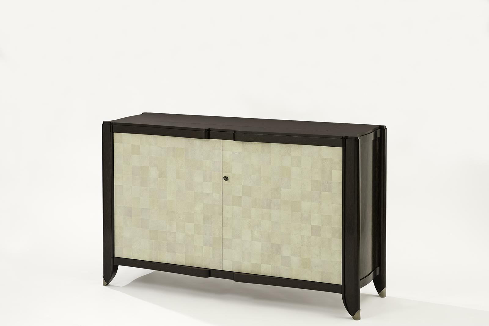 shagreen u0026 palmwood tv lift cabinet tv lift cabinet
