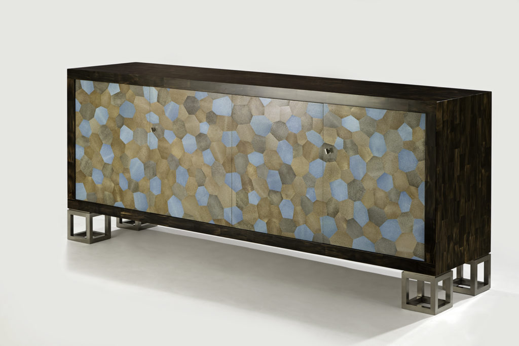 Seyssel Sideboard in Horn & Shagreen