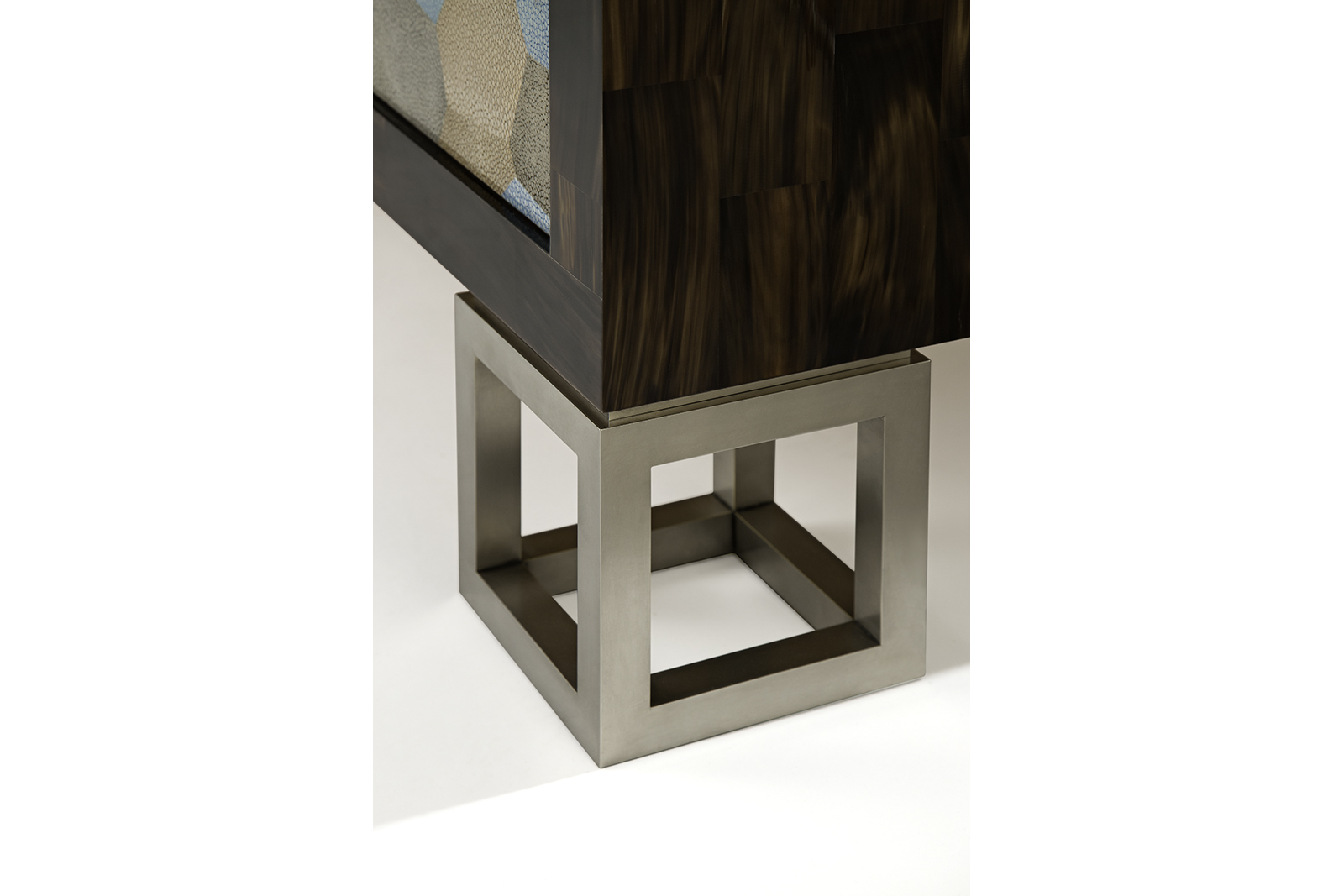Sideboard In Horn, Shagreen & Silvered Bronze 3