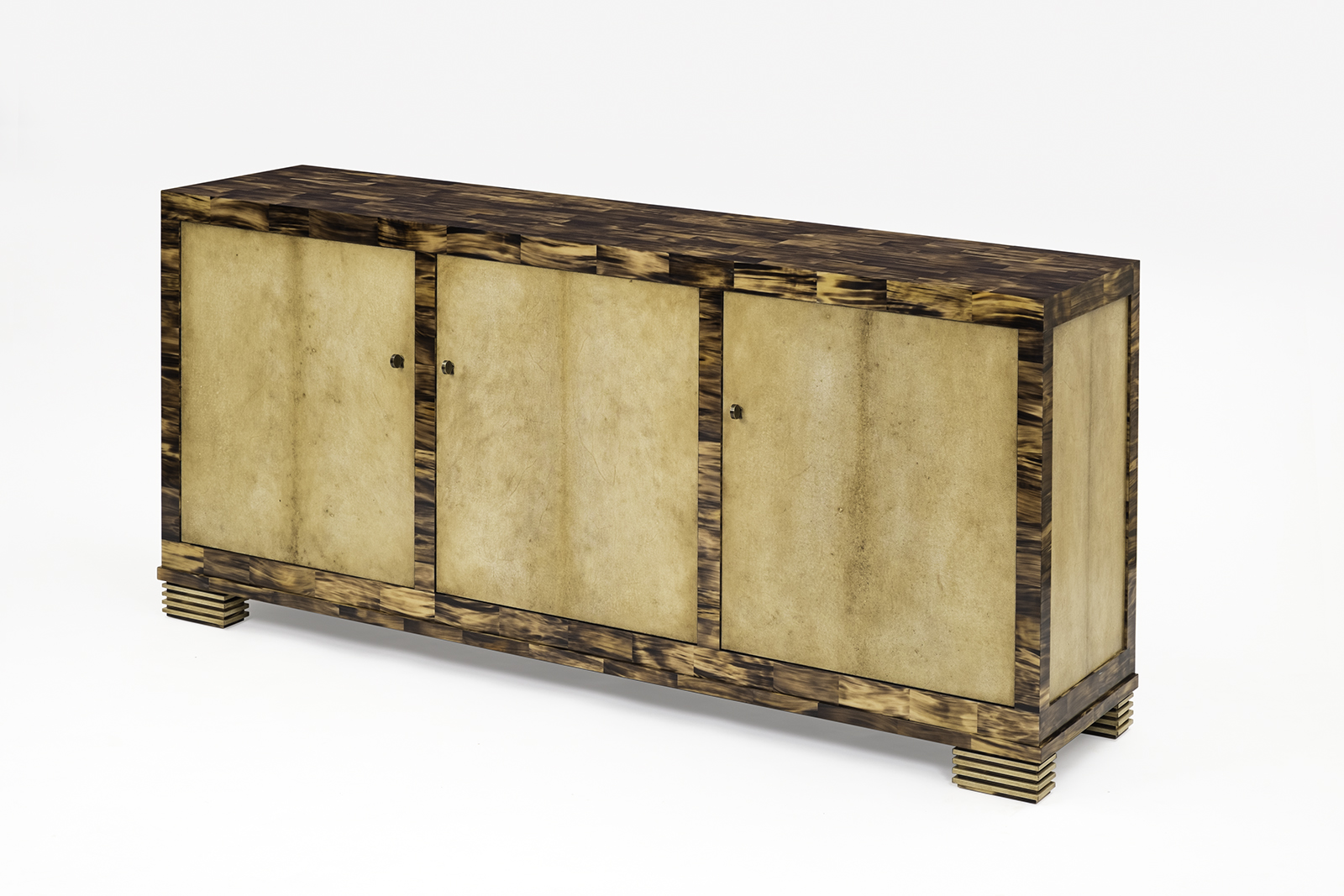 Sideboard in Light-Toned Horn & Aged Parchment