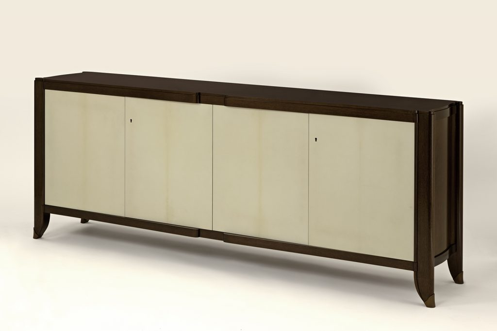 Sideboard in Walnut & Parchment