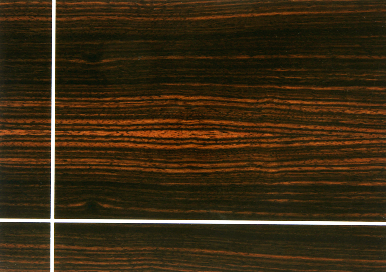Macassar Ebony With Bone Inlay